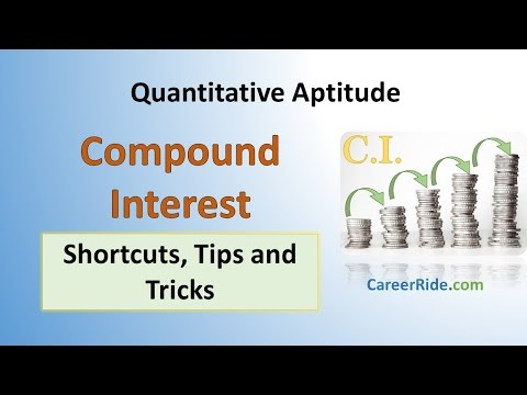 Compound Interest - Shortcuts & Tricks for Placement Tests, Job Interviews & Exams thumbnail