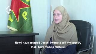 """All the people who came here to join Daesh made a big mistake"" – Belgian ISIS widow speaks to Rudaw"