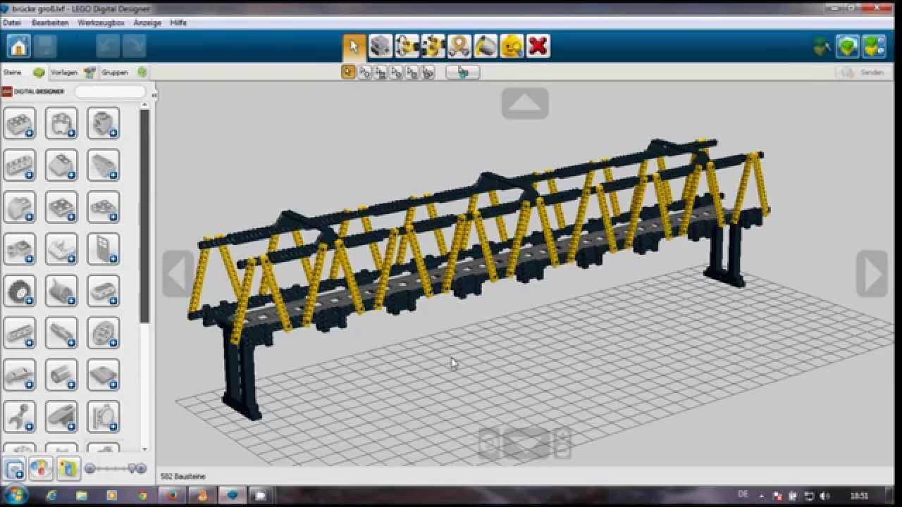 my lego city update bauanleitung lego eisenbahnbr cke 1m spannweite instructions railroad. Black Bedroom Furniture Sets. Home Design Ideas