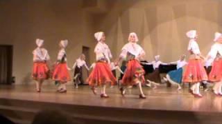 Старинный французский танец - бранль Old French dance - Branle