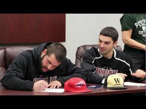 Asheville High School Sports College Signing