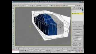 Создание авто в 3D MAX часть 2