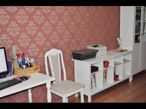 Как я обустроила кабинет  мебелью из ИКЕА.