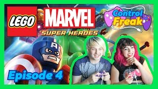 """Lego Marvel Super Heroes Ep 04 """"Does XXX mean 'kisses' or porn?"""" - Control Freak"""