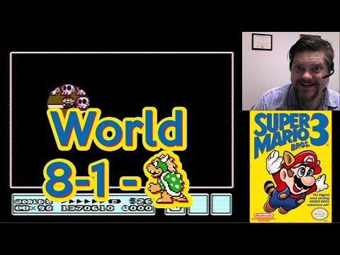 Super Mario Bros. 3, World 8-1 - Bowser | VGHI Play 'n' Chat Live Stream