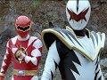 """Red Ranger Vs White Ranger Battle   Power Rangers Dino Thunder """"White Thunder"""" Episode"""
