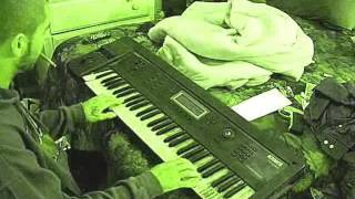 Cole Minor Playing Blues - Oriental - Epic Movie Type Shyt  on the keyboard