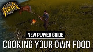 NEW PLAYER GUIDE - Cooking your own food! Legends of Aria (Ultima Online 2)