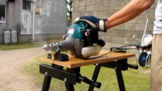 Repeat youtube video 刈払機エンジンにプロペラを付けた 1 Weed eater conversion 1