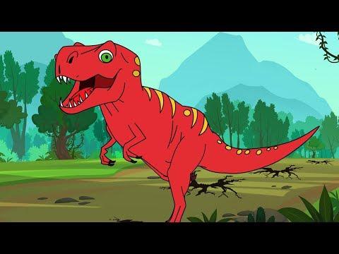 T-rex Song - Tyrannosaurus Rex - family friendly youtube videos - minecraft trex - Fun For Kids TV