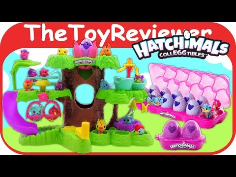 Hatchimals Colleggtibles Hatchery Nursery Playset Eggs 12 Pack Unboxing Toy Review by TheToyReviewer