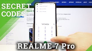 Secret Codes for REALME 7 Pro – IMEI Number / Testing Mode / Calendar Storage