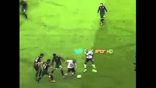 Gökhan vs Sporting Lizbon