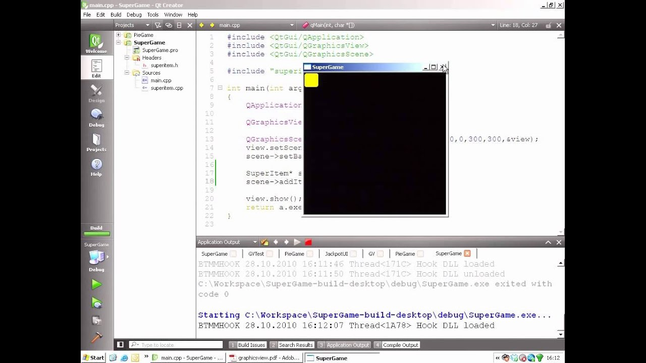 Qt Training: Graphics View (part 3/3): Creating Custom Items