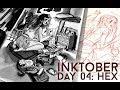 inktober day 04 // 2017// Jacquelindeleon
