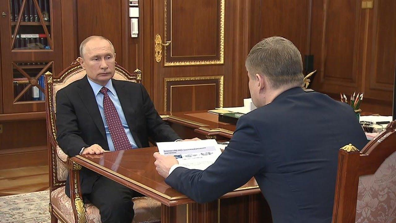 Владимир Путин проводит рабочие встречи (06.04.21)