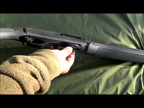 Unloading a Pump Action Shotgun