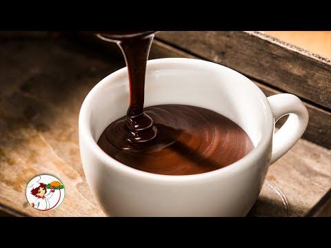 Горячий шоколад готовиться быстро и просто!