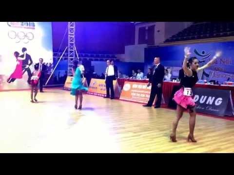 Hanoi Open Dancesport Championships 2016 -Junior 2 Solo Samba Bernice 1/10/16