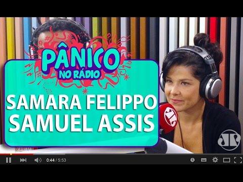 Samara Felippo nega romance com Gisele Itié   Pânico