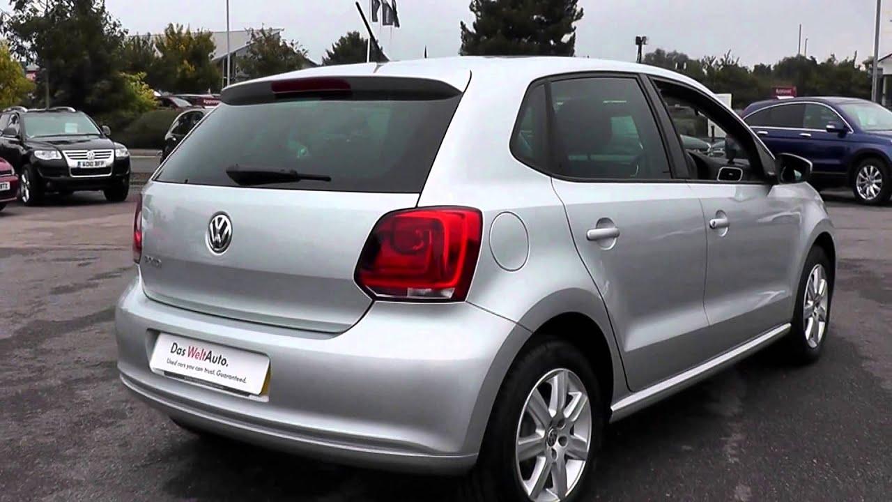 2012 Volkswagen Polo Hatch Match Reflex Silver Metallic 1