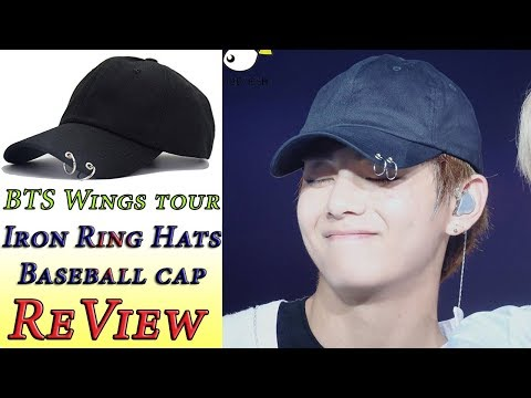 BTS - Wings Tour Iron Rings Hats Love Yourself Snapback Baseball Cap - Review