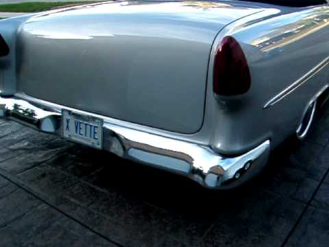 1955 chevy bel air four door to 2 door conversion doovi for 1955 chevy 4 door to 2 door conversion