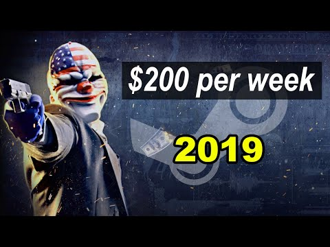 How To Earn Money On STEAM 2019 (ASF + SIDI + Payday 2)