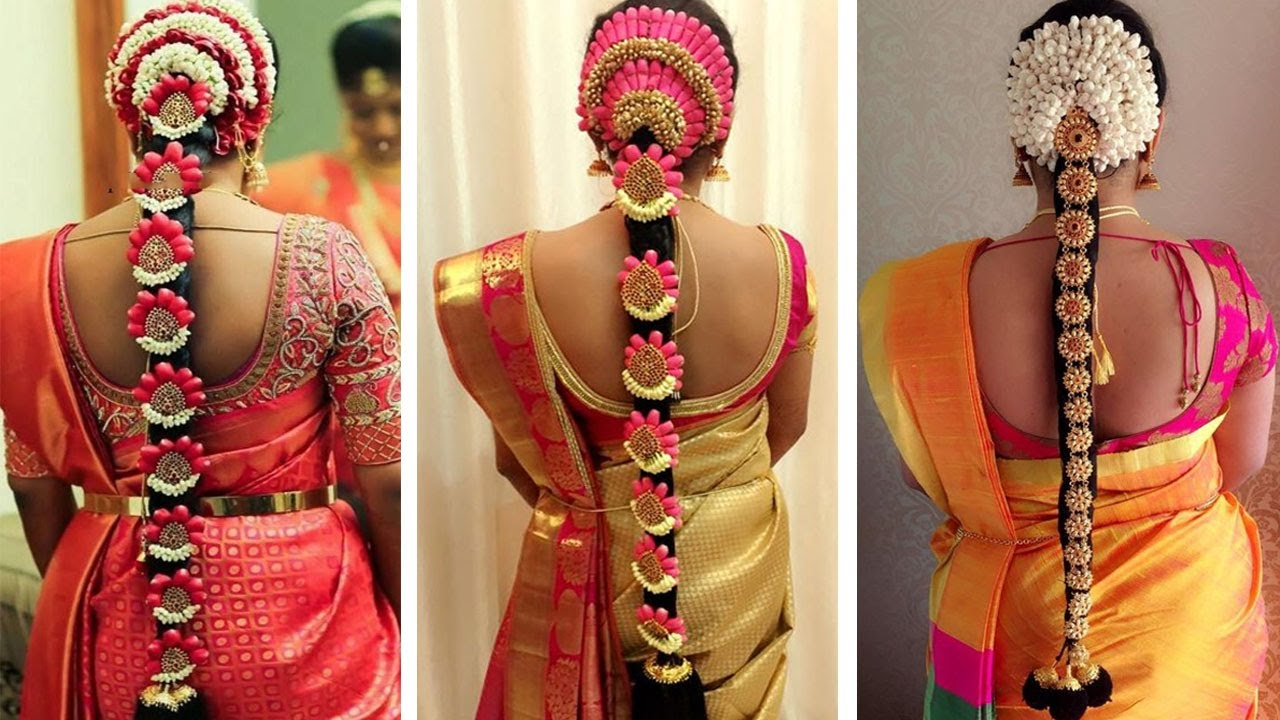 indian bridal hairstyles | wedding hairstyles step by step | bridal