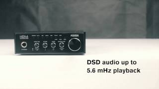 Fostex HP-A4 - USB 32 bit Digital to Analogue Converter and Headphone Amplifier