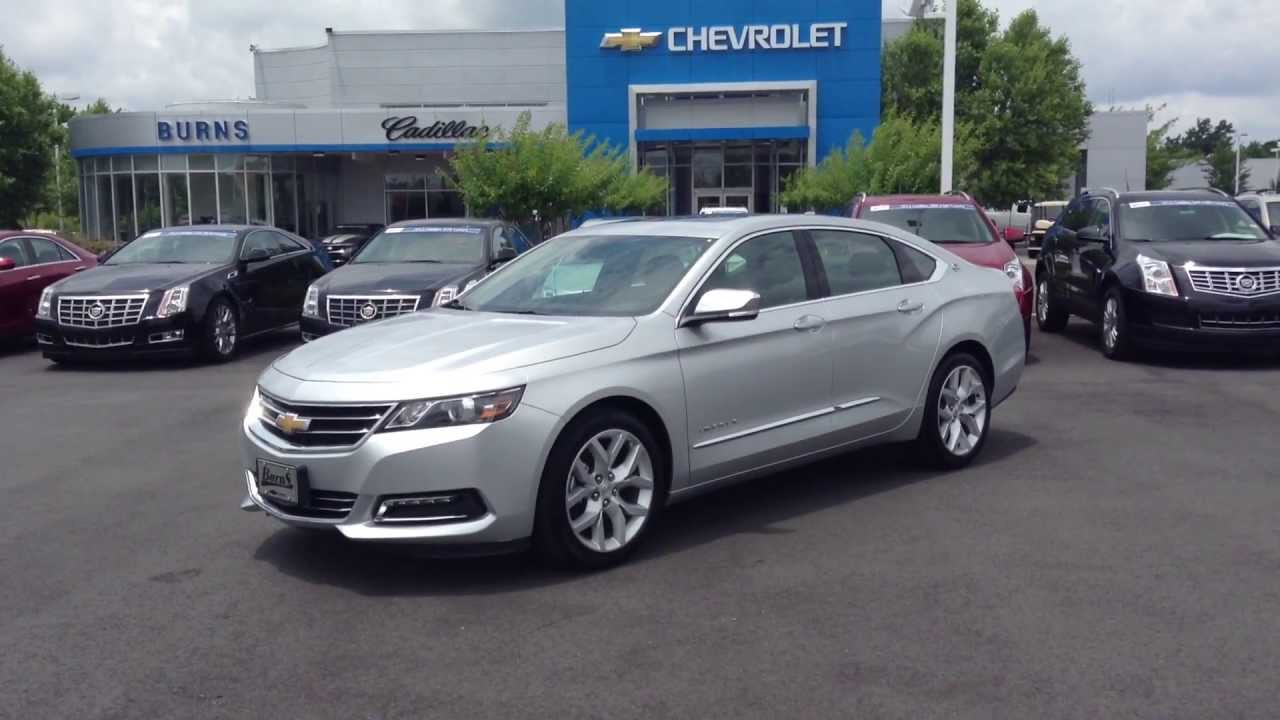 2013 Chevy Impala Ltz >> 2014 Chevrolet Impala LTZ Silver Ice Metallic, Burns Cadillac Chevrolet Rock Hill Sc - YouTube