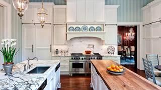 Brilliant Ideas that Bring Tasteful Stripes to Modern Kitchen