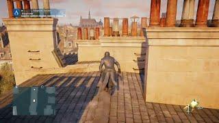 Assassin's Creed Unity Free Roam Parkour