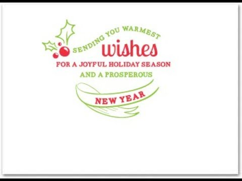 business holiday card messages - Business Holiday Card Messages