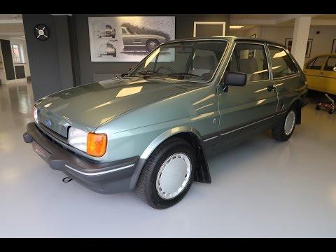 SOLD - 1984 Ford Fiesta 1 3 Mk2 Ghia 3 door only 6000 miles.