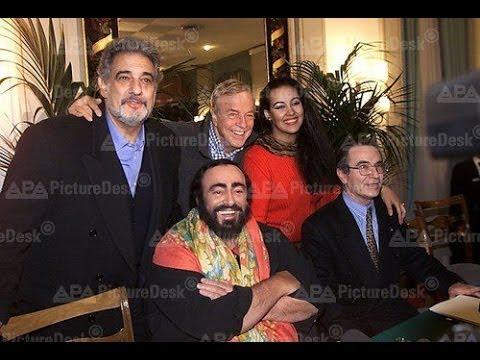 Luciano Pavarotti singing Placido Domingo conducting Puccini - Tosca - 2000 Salazar,Zeffirelli