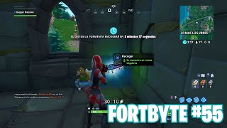 Fortnite Battle Royale ? Fortbyte Challenges How to get the Fortbyte #55