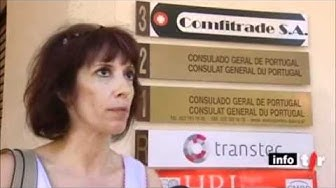 TSR, 31 août 2011, 1930h, ''Genève consulat du Portugal en grève''
