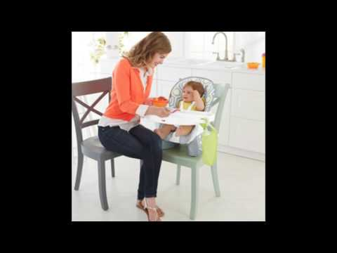 Fisher-Price SpaceSaver High Chair, Geo Meadow – Best Kids Ride on Toys