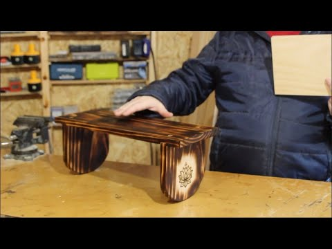 make a meditation stool from a single board FOR UNDER $10.00