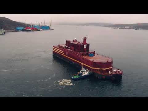 World's only floating nuclear power plant to be loaded with fuel in Russia