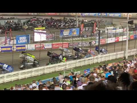 Knoxville Nationals Thursday night Parade Lap 8-8-19