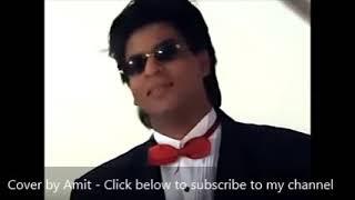 Bus itna sa khwaab hai | Cover by Amit Agrawal | Karaoke | Abhijeet | Shahrukh Khan | Yes Boss