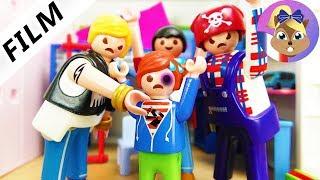 Film Playmobil en français: Bagarreurs chez Julian! Stress venant des visiteurs - Famille Brie