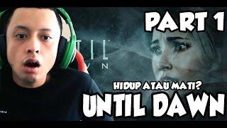Until Dawn Part 1 - HIDUP ATAU MATI - PokoPow Walkthrough PS4 #1
