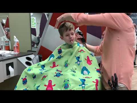 Vlog 88 Haircut Day For The Boys Youtube