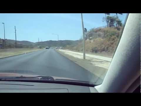 Driving around Guantanamo Bay, Cuba Naval base