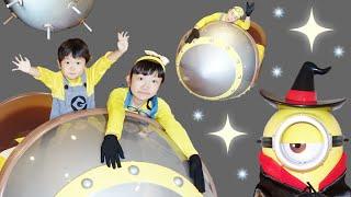 ★「ミサイルベッド最高~」ハロウィン仕様!ミニオンルーム★Halloween Minions Room★ thumbnail