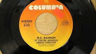 "R.C. Bannon ""If You"