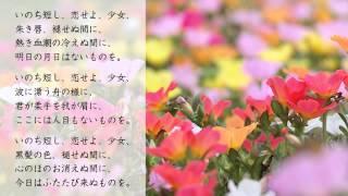 藤田恵美 - ゴンドラの唄